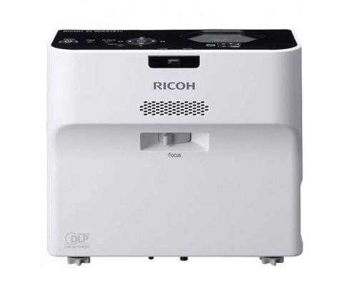 Проектор Ricoh PJ WX4152N (DLP, WXGA 1280x800, 3500Lm, 2000:1, HDMI, LAN, USB, 1x2W speaker, 3D Ready, lamp 5000hrs, ultra short-throw, White-Black, 3.0kg)
