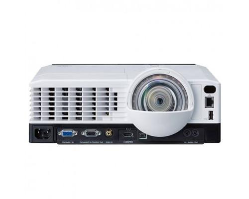 Проектор Ricoh PJ X4241N (DLP, XGA 1024x768, 3300Lm, 13000:1, HDMI, LAN, USB, 1x10W speaker, 3D Ready, lamp 5000hrs, short-throw, White-Black, 3.1kg)
