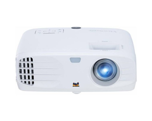 Проектор ViewSonic PG705WU (DLP, WUXGA 1920x1200, 4000Lm, 12000:1, 2xHDMI, LAN, 1x10W speaker, 3D Ready, lamp 15000hrs, White, 3.68kg)