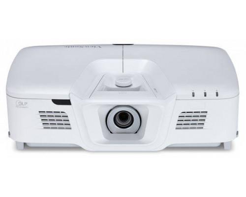 Проектор ViewSonic PG800HD (DLP, 1080p 1920x1080, 5000Lm, 50000:1, HDMI, USB, LAN, MHL, 2x10W speaker, 3D Ready, lamp 2500hrs, White, 6.2kg)