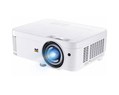 Проектор ViewSonic PS501W (DLP, WXGA 1280x800, 3500Lm, 22000:1, HDMI, 1x2W speaker, 3D Ready, lamp 15000hrs, short-throw, White, 2.6kg)