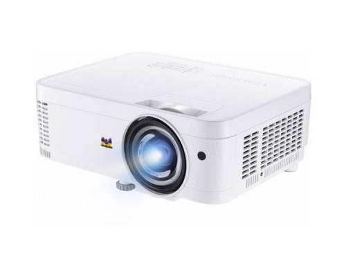 Проектор ViewSonic PS600X (DLP, XGA 1024x768, 3500Lm, 22000:1, 2xHDMI, LAN, 1x10W speaker, 3D Ready, lamp 15000hrs, short-throw, White, 2.6kg)