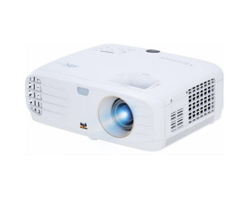 Проектор ViewSonic PX727-4K (DLP, 4K, UHD 3840x2160, 2200Lm, 12000:1, 2xHDMI, 1x10W speaker, lamp 15000hrs, White, 4.2kg)