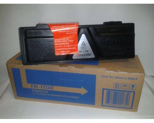Тонер-картридж TK-1100 2 100 стр. для FS-1110/1024MFP/1124MFP