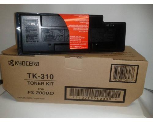 Тонер-картридж TK-310 12 000 стр. Black для FS-2000D/3900DN/4000DN
