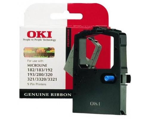 Картридж с красящей лентой для матричного принтера OKI Microline 182/183/280/320/321/3320/3321/3310/3311 (3 млн.знаков)