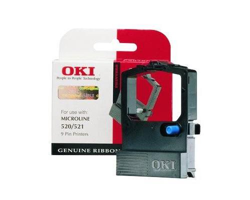 Картридж с красящей лентой для матричного принтера OKI Microline 520/521