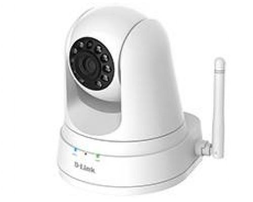 D-Link DCS-5030L 1 Мп беспроводная облачная сетевая HD-камера день/ночь, с ИК-подсветкой до 5 м, приводом наклона/поворота, режимом повторителя и слотом для карты microSD