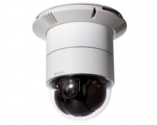 D-Link DCS-6616 Купольная сетевая высокоскоростная PTZ-камера с поддержкой WDR и 12-кратным оптическим увеличением