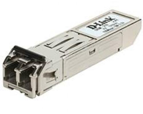 D-Link DEM-210 Модуль SFP с 1 портом 100Base-FX для одномодового оптического кабеля, питание 3,3В (до 15 км)