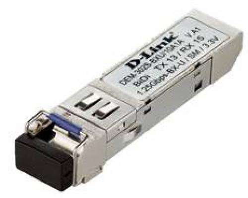D-Link DEM-302S-BXU 10 штук WDM SFP-трансивер с 1 портом 1000Base-BX-U (Tx:1310 нм, Rx:1550 нм) для одномодового оптического кабеля (до 2 км)