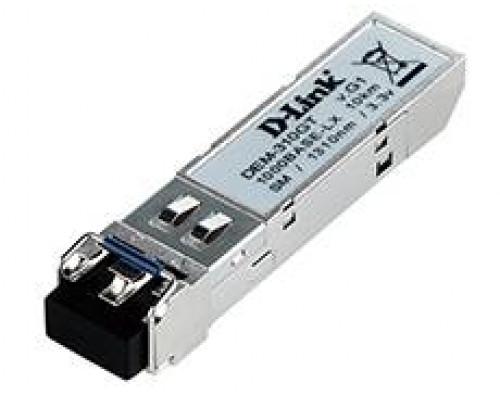 D-Link DEM-310GT/DD SFP-трансивер с 1 портом 1000Base-LX и поддержкой DDM для одномодового оптического кабеля (до 10 км)