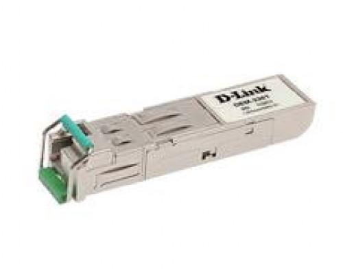 D-link DEM-331T/A1A WDM SFP-трансивер с 1 портом 1000Base-BX-D (Tx:1550 нм, Rx:1310 нм) для одномодового оптического кабеля (до 40 км)