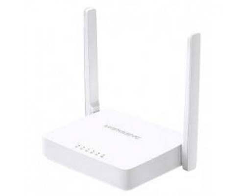 Mercusys MW305R, N300 Wi-Fi роутер, чипсет Mediatek, 2T2R, до 300 Мбит/с 2,4 ГГц, 802.11b/g/n, 1 порт WAN 10/100 Мбит/с + 4 порта LAN 10/100 Мбит/с, 2 фиксированные антенны, поддержка L2TP Россия/PPTP Россия/PPPoE Россия, IGMP Snooping/Proxy, режима моста