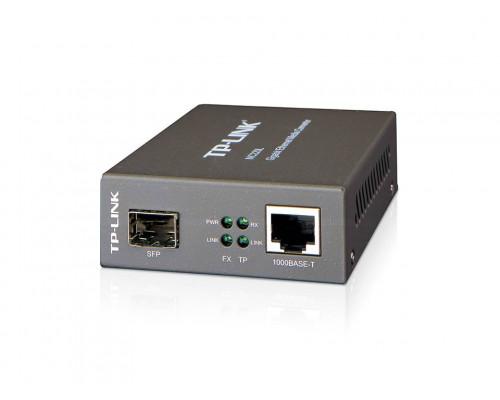 TP-Link MC220L Гигабитный Ethernet медиаконвертер