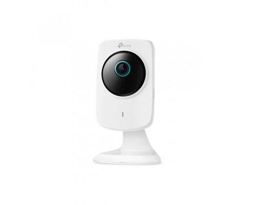 TP-Link NC260 Дневная/ночная Wi-Fi облачная HD-камера, 30 к/с при разрешении в 720 пикс., 300 Мбит/с, прямоугольный дизайн, дневное/ночное видение, разрешение HD 720p, хранение на карте Micro SD, H.264 видео, 1/4-дюймовый сенсор, двусторонняя аудиосвязь,