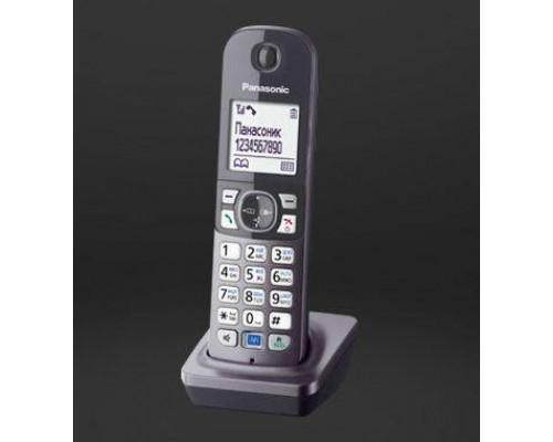 Дополнительная трубка Panasonic для KX-TG6811/6812/6821/6822 черная