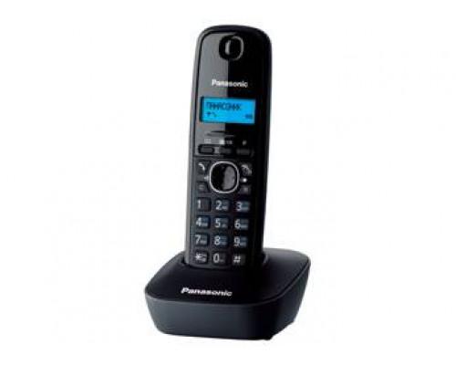Р/телефон Panasonic KX-TG1611RUH (черный/серый)