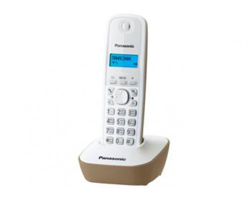 Р/телефон Panasonic KX-TG1611RUJ (белый/бежевый)