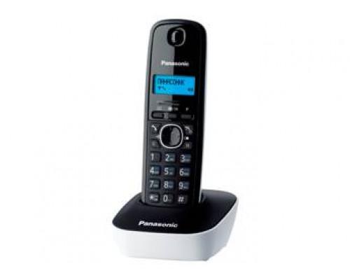 Р/телефон Panasonic KX-TG1611RUW (черный/белый)