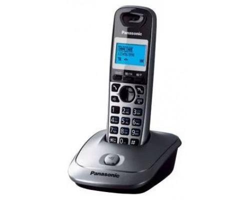Р/телефон Panasonic KX-TG2511RUT (темно-серый металлик)