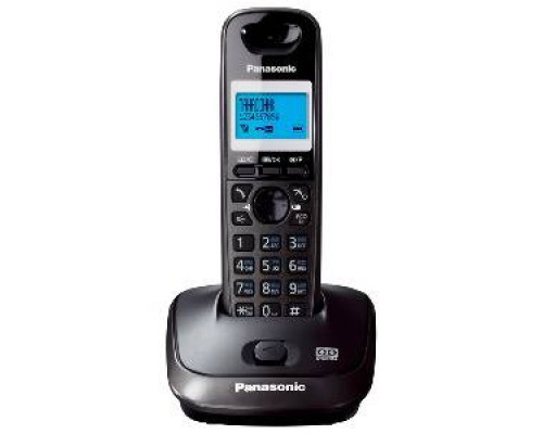 Р/телефон Panasonic KX-TG2521RUT (темно-серый металлик, автоответчик)