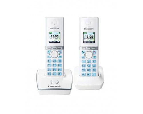 Р/телефон Panasonic KX-TG8052RUW (белый, 2 трубки)
