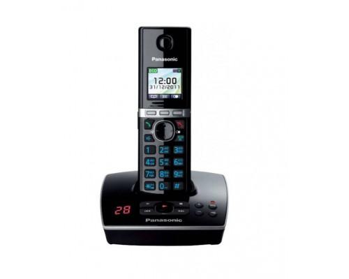 Р/телефон Panasonic KX-TG8061RUB (черный, автоответчик)