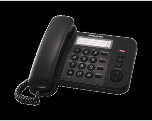 Телефон Panasonic KX-TS2352RUB (черный)