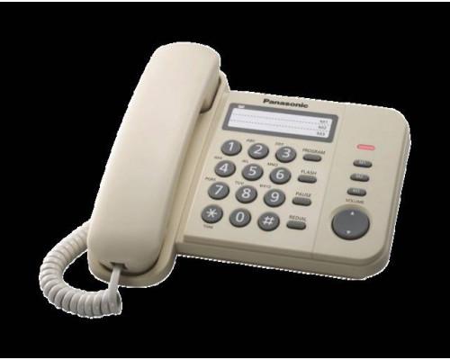 Телефон Panasonic KX-TS2352RUJ (бежевый)