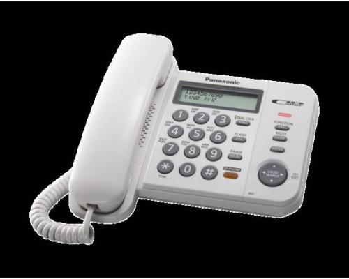 Телефон Panasonic KX-TS2358RUW (белый)